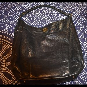 Tory Burch Leather Hobo Shoulder Bag